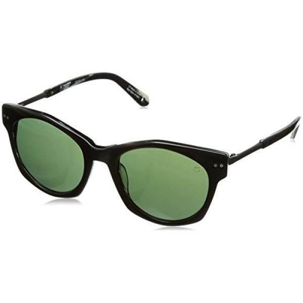 Spy Optic Unisex Mulholland Lensa Bahagia Koleksi Kacamata Hitam/Horn Warna Hijau satu Ukuran Cocok untuk Semua-Intl