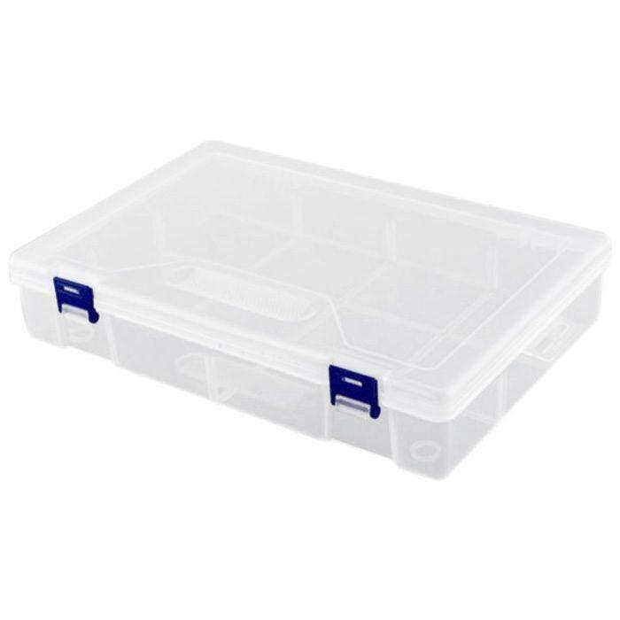 Box Files Folder Pocket Subject Storage Style:Hobby Box, Blue - intl