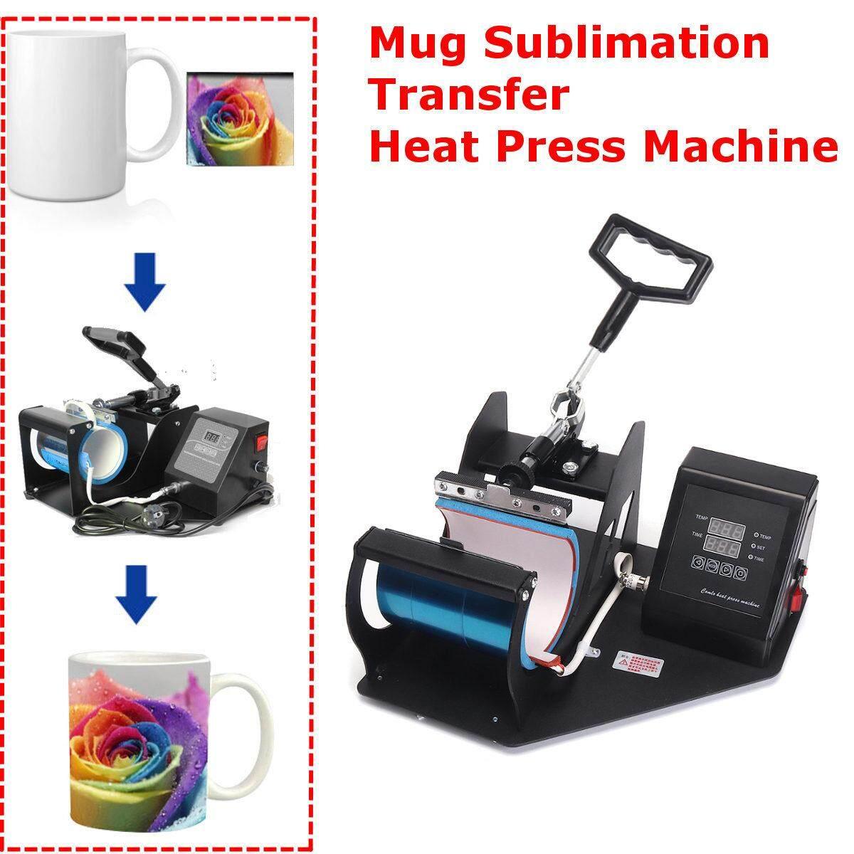 350w Coffee Mug 9oz-15oz Cup Sublimation Heat Press Transfer Machine Diy Printer By Audew.