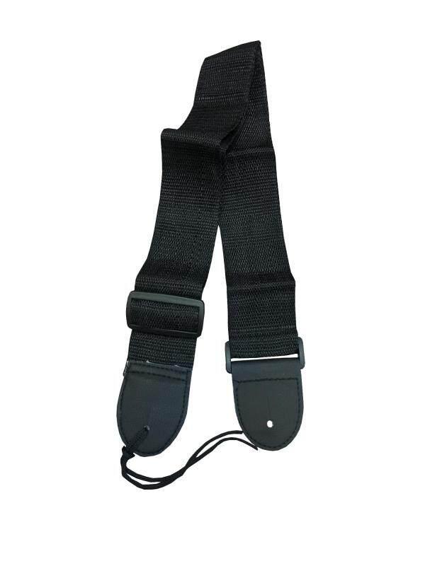 Plain black Colour guitar strap, plain, simple, suitable for acoustic guitar and electric guitar Malaysia