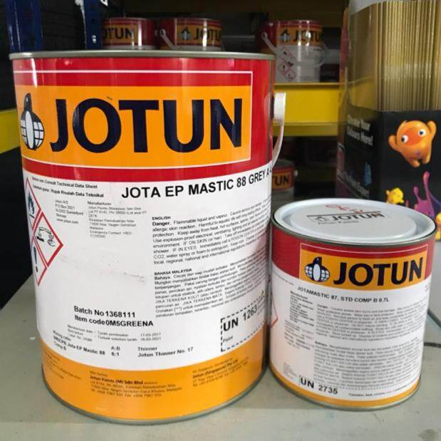 JOTUN MASTIC 88 EPOXY PRIMER UNDERCOAT FLOOR PAINT - 5LIT