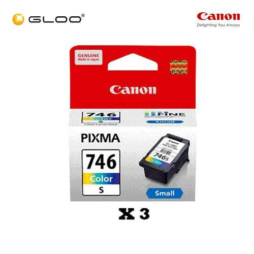[Set of 3] Canon CL-746S Ink Cartridge - TriColor