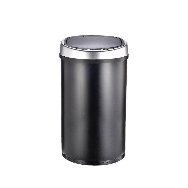 Automatic Motion Sensor Touchless Trash Can Usb Charging Durable Stainless Steel Waste Bin 16l By Qiaosha.