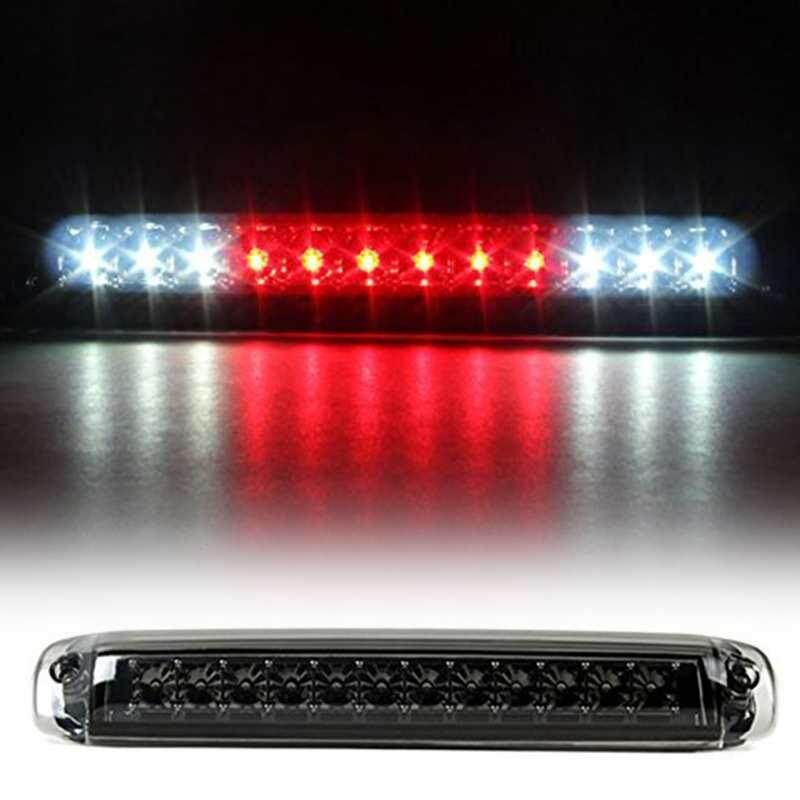 Fdikou Car 12V Brake Tail Light LED Lamp for 99-06 GMC Sierra High Mount Smoked Housing