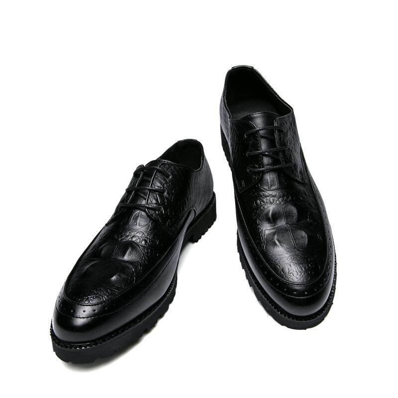 ... Mewah Kulit Pria Moderen Bisnis Gaun Sepatu Brogue Pesta Pernikahan Perapi Formal Sepatu Pria Gaun Sepatu ...