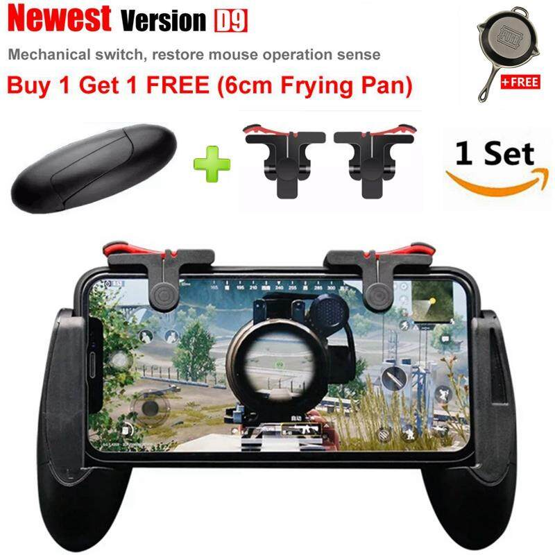 CCYP 1 Set Best Upgraded Version PUBG ROS Eat Chicken Games Shortcut Key  Joystick L1R1 Shooter Controller PUBG Joysticks Auxiliary Game Button For