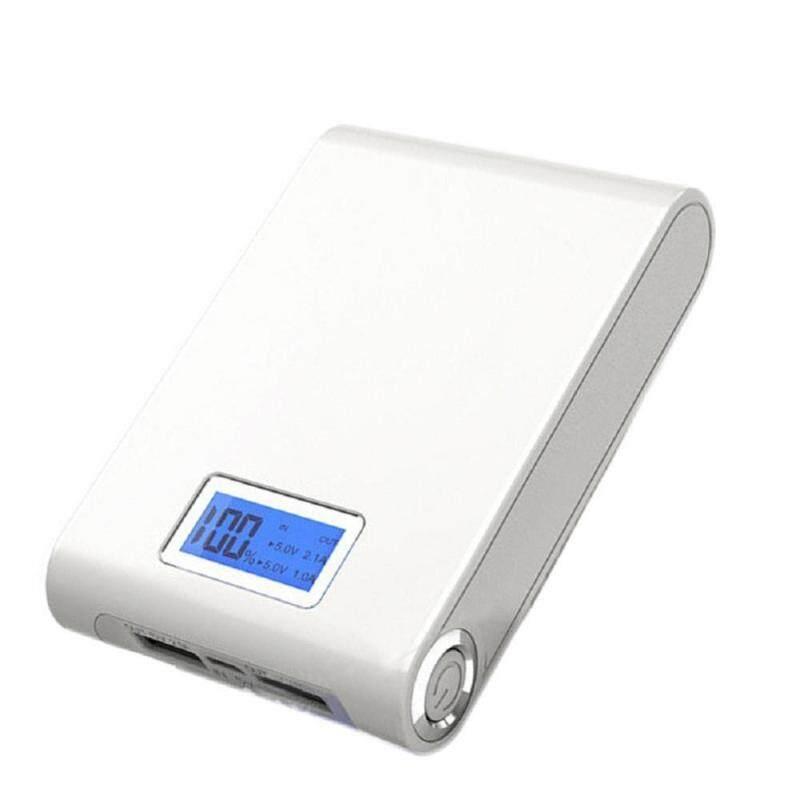 Giá LED5V 12000 mAh Dual USB Power Bank 18650 Ốp Lưng Kiêm Pin Sạc Dự Phòng DIY Hộp Cho Điện Thoại