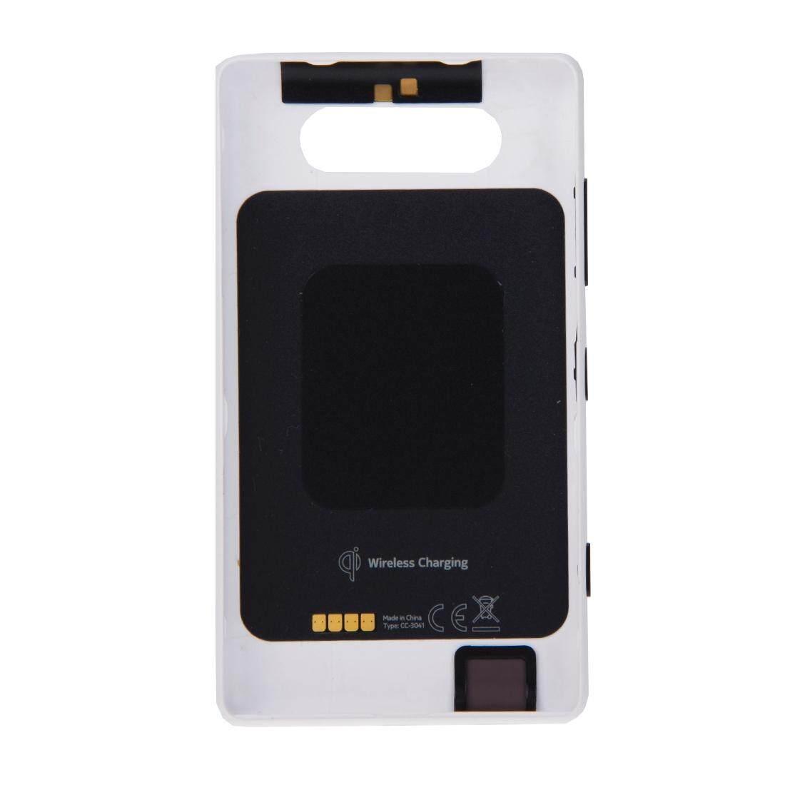 ... Warna Solid NFC Penutup Belakang untuk Nokia Lumia 820 (Putih)-Intl - 3 ...