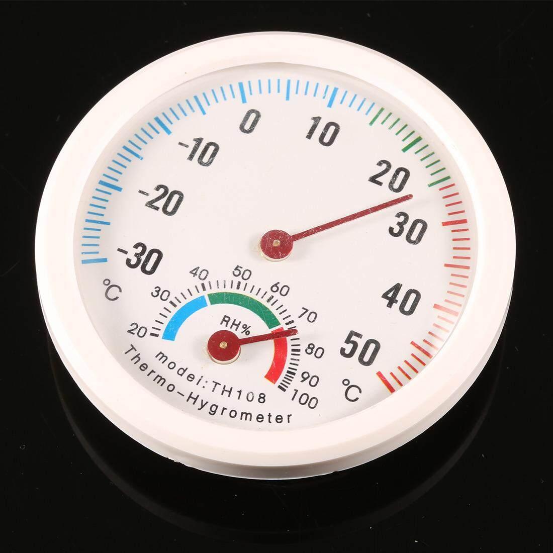 Fitur Dalam Luar Ruangan Termometer Suhu Meter Higrometer Kelembaban Hygrometer Thermometer Htc 1 Digital Lcd Jam Berbentuk Internasional 3