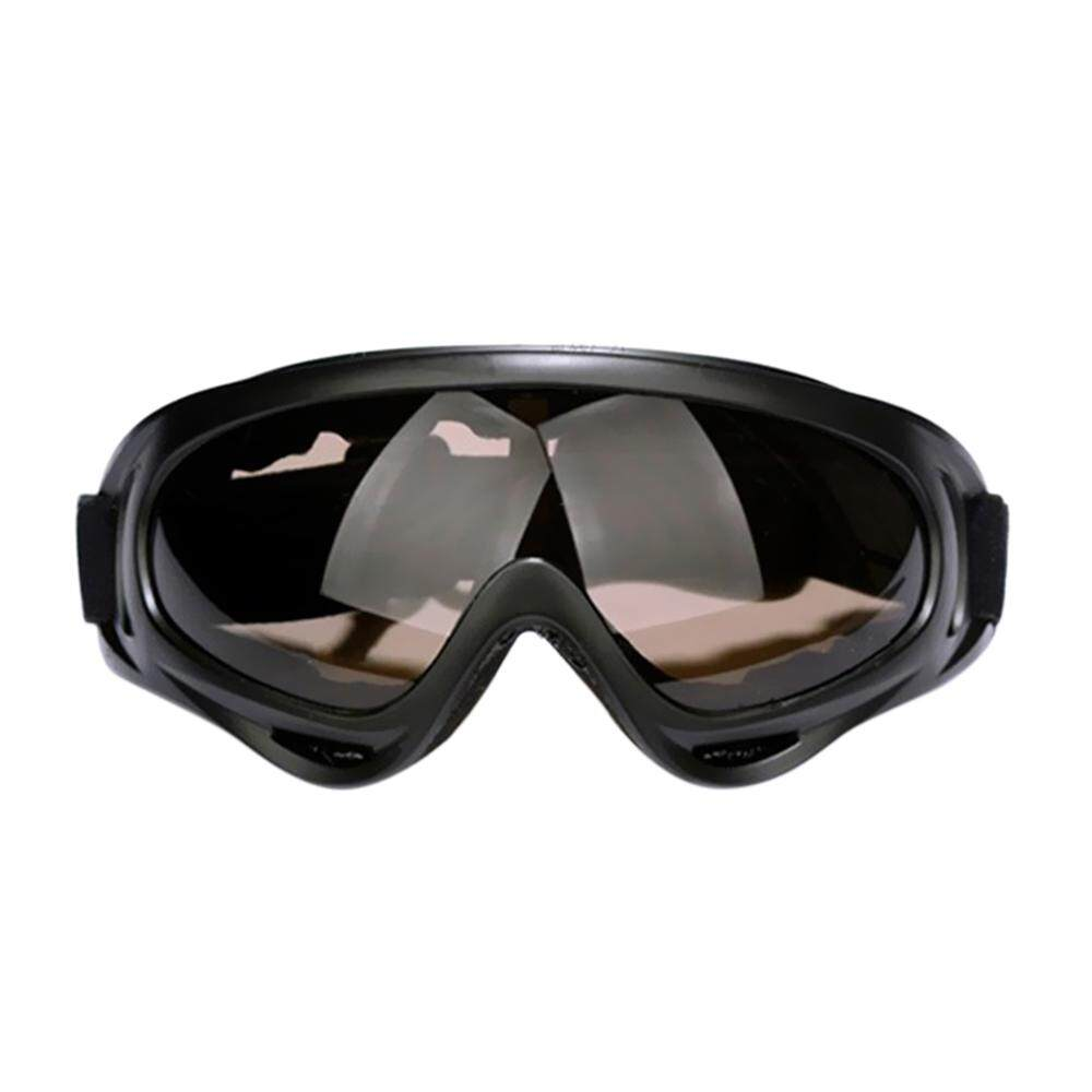 Luar Ruangan Kaca Depan Motocross Sepeda Motor Kotoran Sepeda Ski Mati Jalan ATV Olahraga Kacamata Kacamata Olahraga Kacamata X400 Anti Angin dan Pasir kipas Taktis Equipment-Internasional