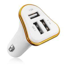 CC003 Three Interfaces 4.1A Car Charger Smart Shunt Fast CE Certification Android mobile phone charger