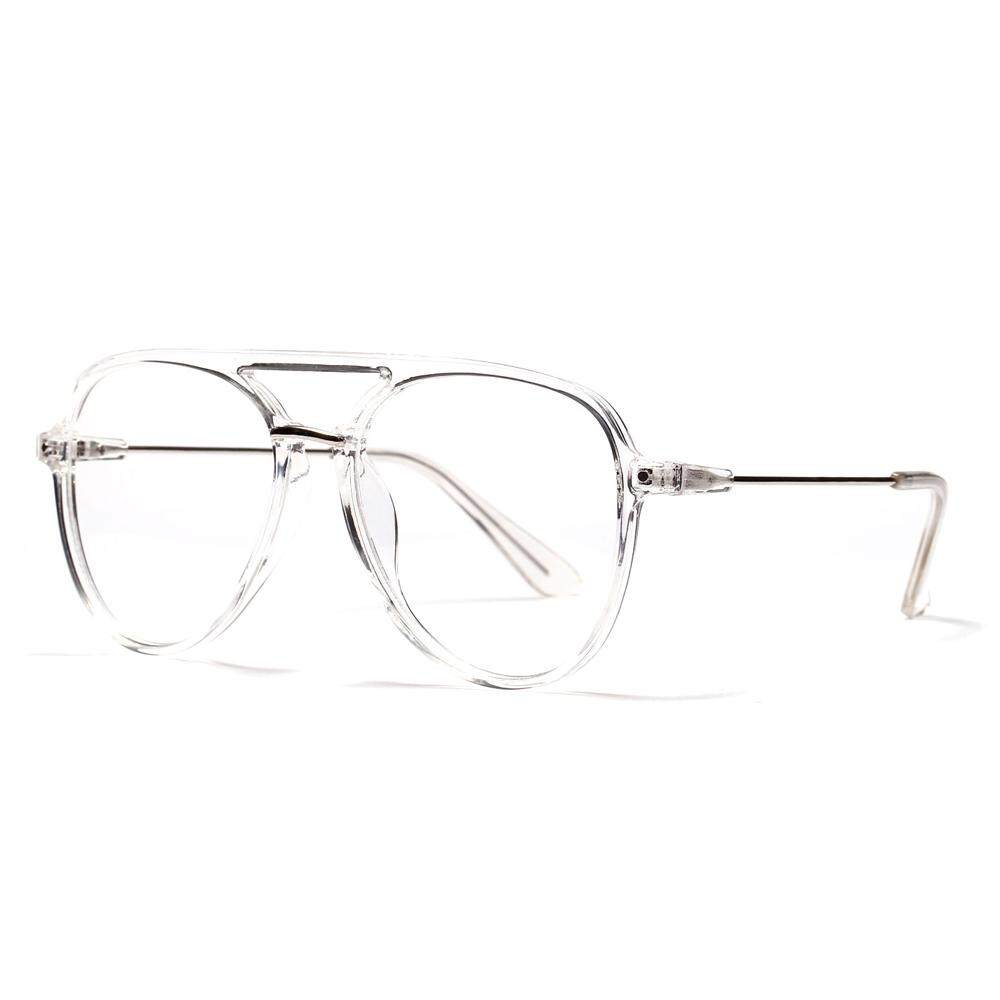 97f60df770 Retro Transparent Glasses Frame for Women 2018 Leopard Black Clear Lens Big Oversized  Eyeglasses Frames Men