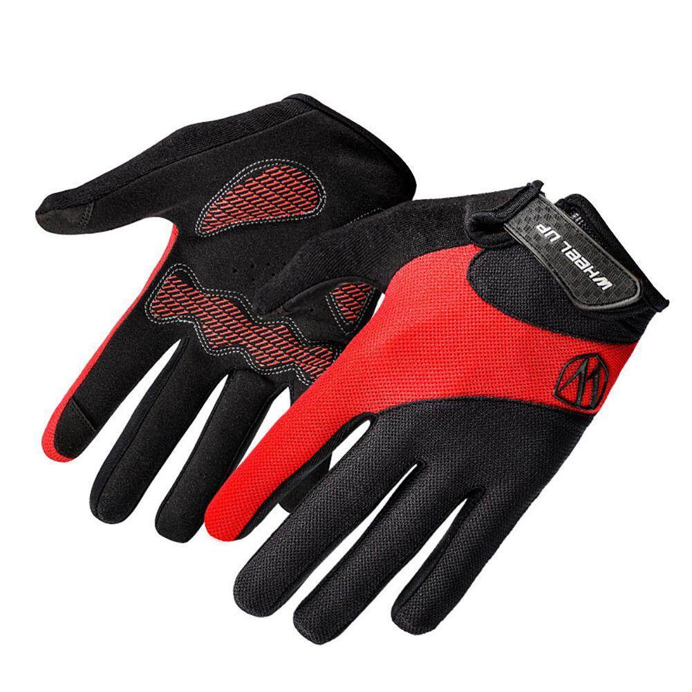 Cycling Gloves Buy At Best Price In Singapore Www Mtb Sarung Tangan Sepeda Size M To L Niceeshop Shockproof Skid Men Outdoor Sports Full Touch Screen Femalem