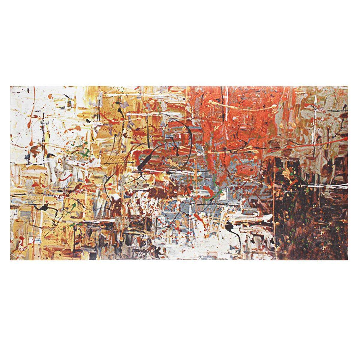 GUDI- Abstract Large Hand Drawing Modern Painting Home Decor Canvas Art Wall # 75*150cm - intl