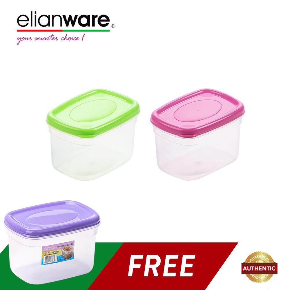 Elianware (BUY 2 FREE 1) 660ml BPA FREE Multipurpose Food Keeper
