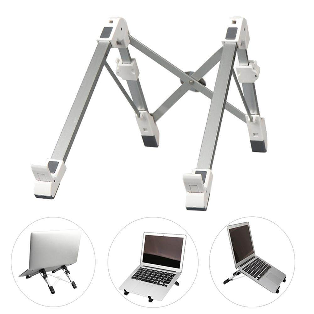OrzBuy A Set Of 3 Notebook Aluminum Alloy Portable Stand / Desktop Computer Stand / Foldable Multi-function Base / Cervical Heat Sink - intl