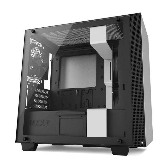 NZXT H400 Mid Tower mATX Case - White Malaysia