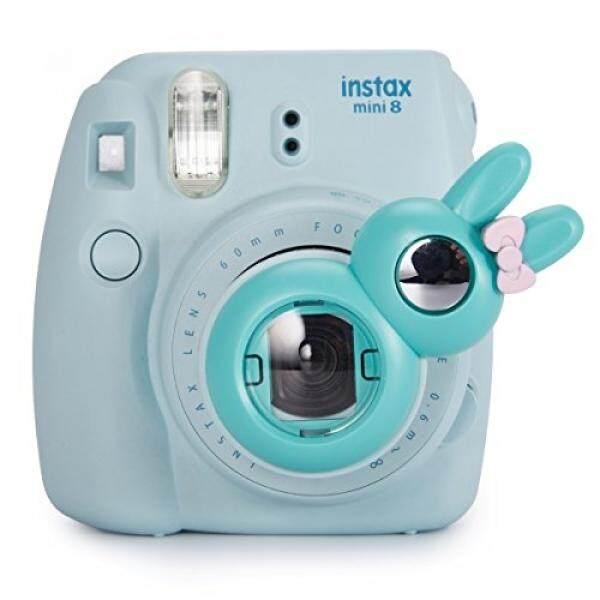 CAIUL Compatible Bunny Mini 8+ Close-Up Selfie Lens with Self-Portrait Mirror for Fujifilm Instax Mini 9 8 8+ 7s, Polaroid 300 Camera (Mint) - intl