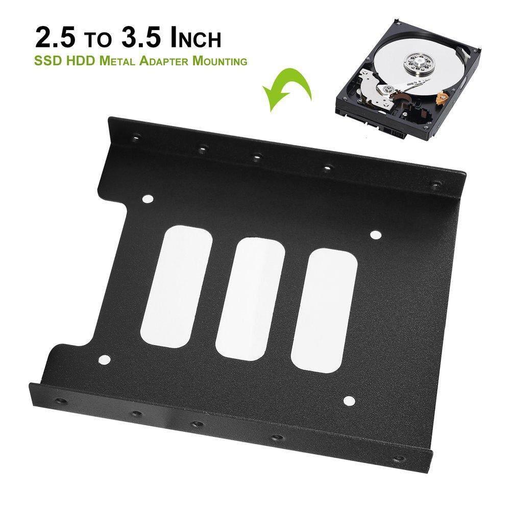 Hình ảnh ELEC 2.5 to 3.5 Inch SSD HDD Metal Adapter Mounting Bracket Hard Drive Holder