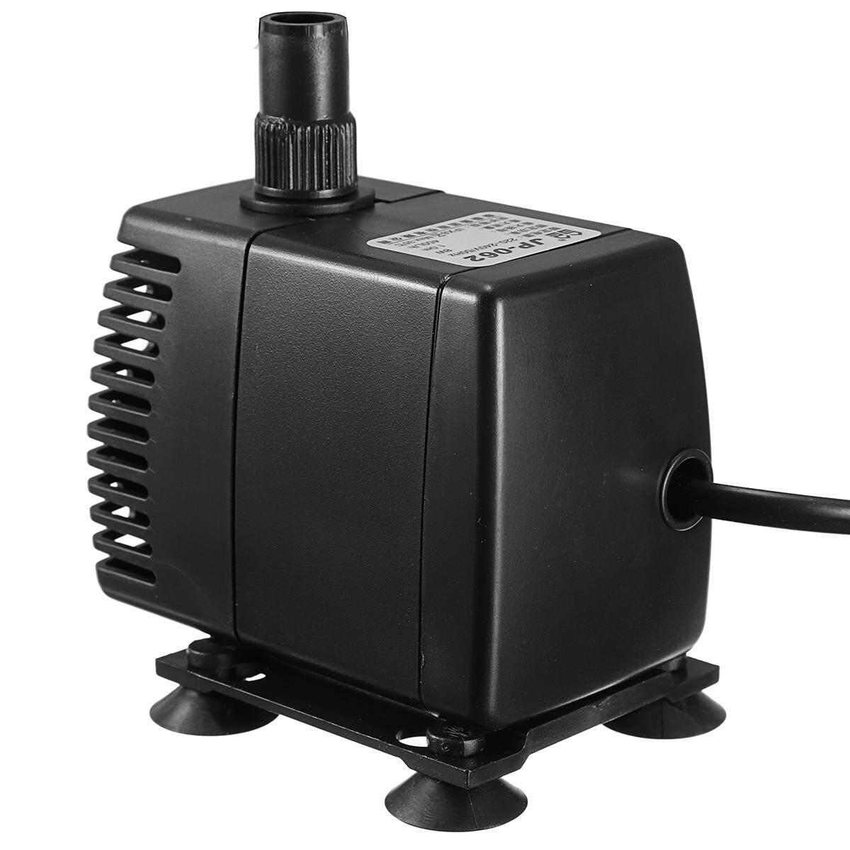 8 W 450L/H Pompa Celup Akuarium Tangki Ikan Powerhead Filter & Sucker-Intl - 2