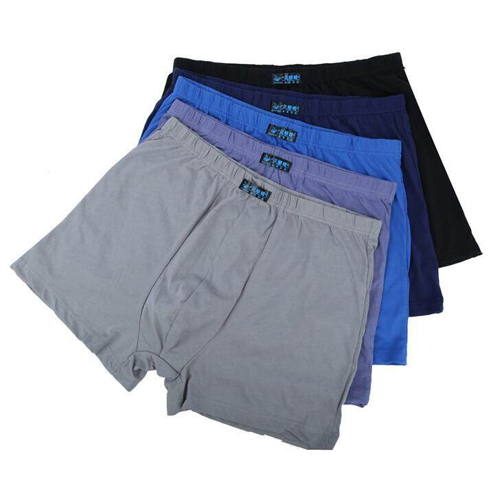 530490c854 5pcs lot L-8XL!Plus Size Underwear Men Boxers Shorts Underpants High Quality