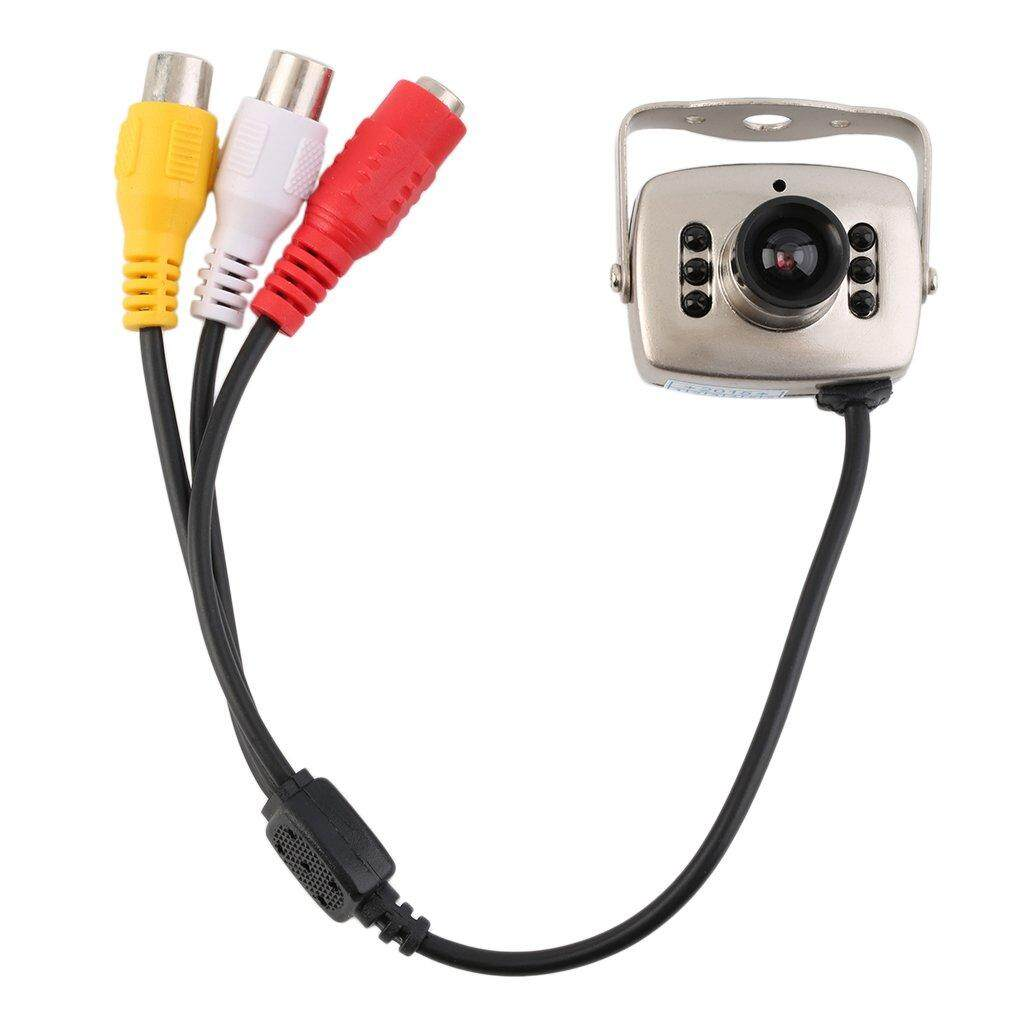 IR Kabel CCTV Kamera Keamanan Warna Malam Visi Inframerah Rekaman Video - 4 .
