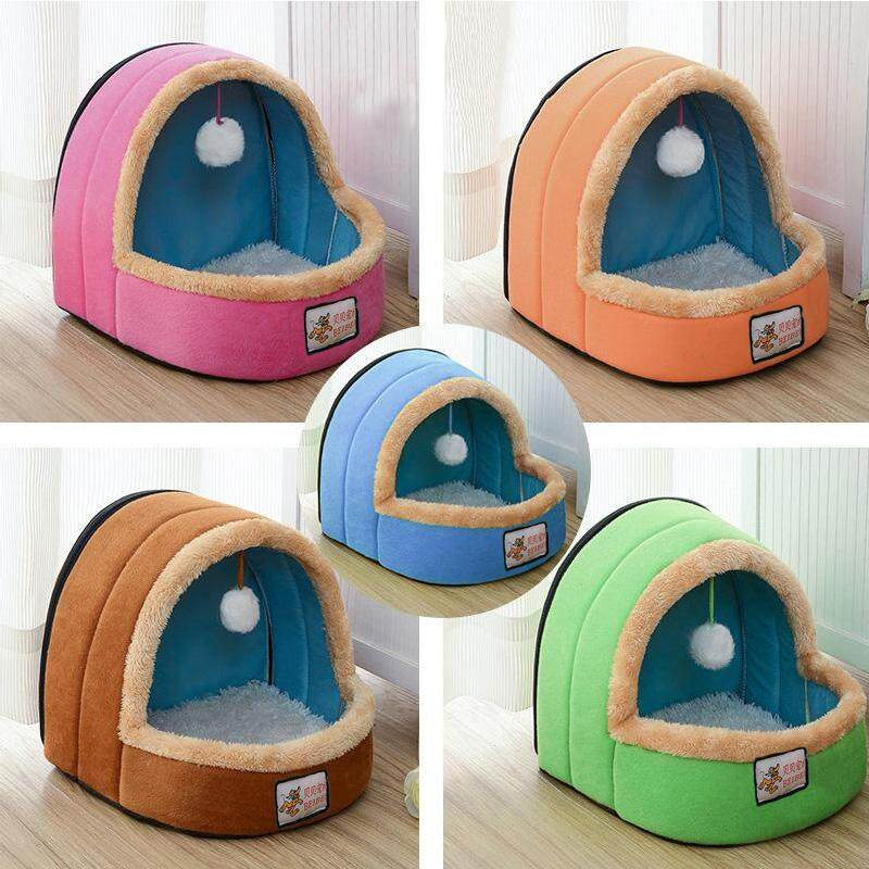 Creative Product For Dogs Cats New Style Soft Pet Bed Pet House Dog Kennel - Pink By Cicbpjbga.