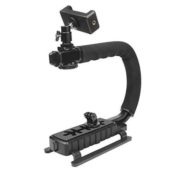 D & F Video Pegangan Penyeimbang Gagang Penyeimbang Tangan Pemegang dengan 1/4 Sekrup Lubang untuk GoPro 6/5/4/ 3 +/3 SJCAM, sony Canon Nikon DSLR dan Camcorder DV-Intl