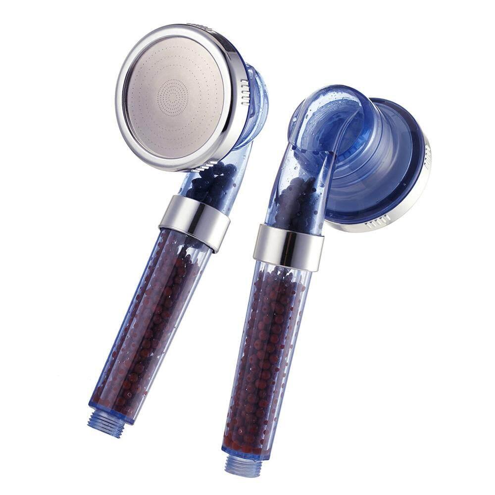 Pressure Shower Head Ion Filter Shower Head High Pressure (BLUE)