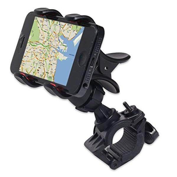 Car Cradles & Mounts JIAFENG New Universal Easy Clip-Grip Handlebar Bike Mount Holder for iPhone 4 4S 5 5S, Samsung Galaxy S5 S4 S3, Note 3 Note2, HTC One, HTC and other smart phones, GPS devices. (Black) - intl