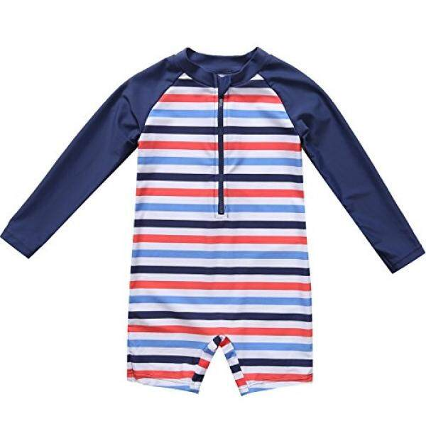 Beautyin Baby Beach One-Piece Swimsuit Upf 50+ -Sun Protective Sunsuit By Buyhole.
