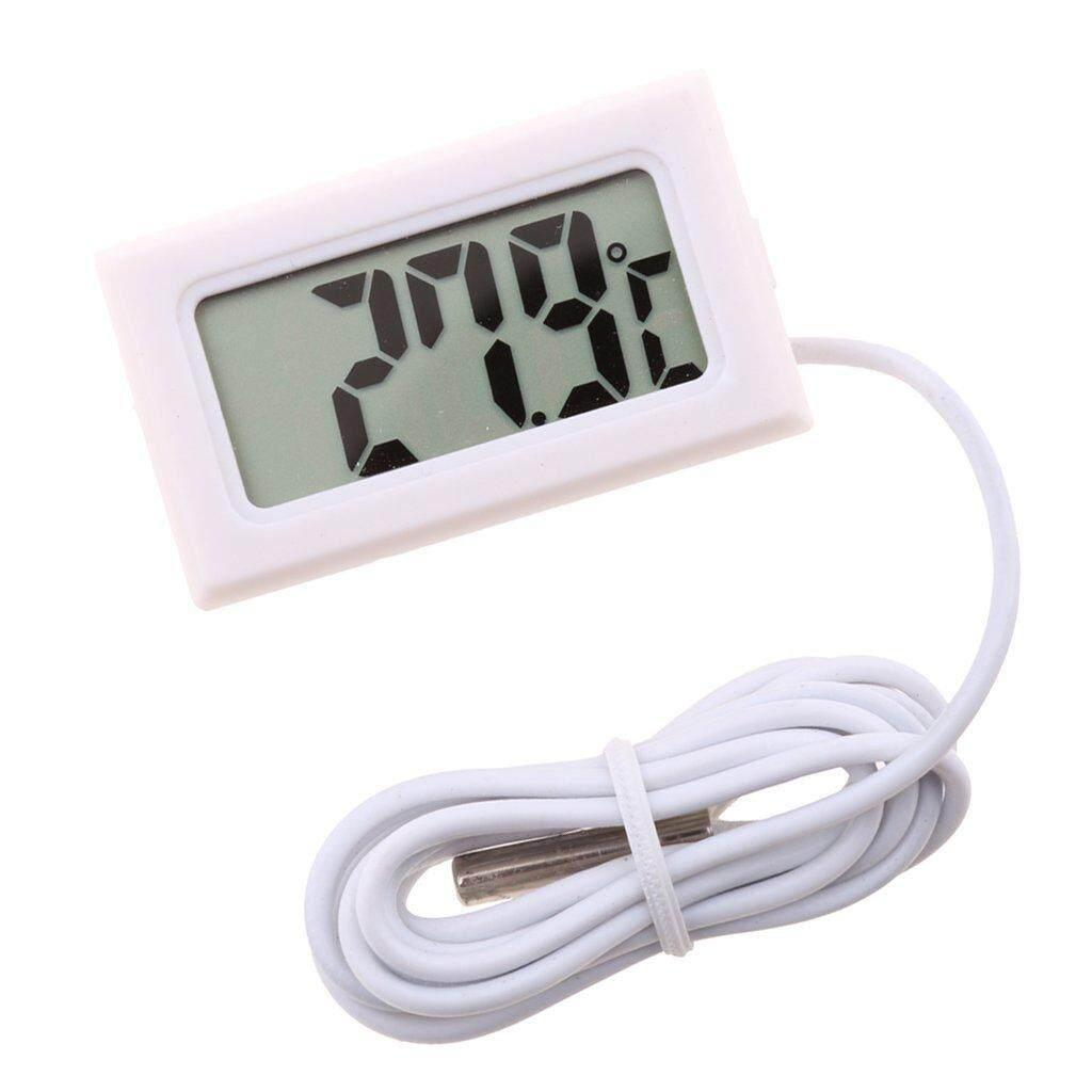 Buy Sell Cheapest Lcdigital Termometer Air Best Quality Product Hygrometer Putih Serbaguna Untuk Tangki Ikan Aquarium Terrarium Hitam