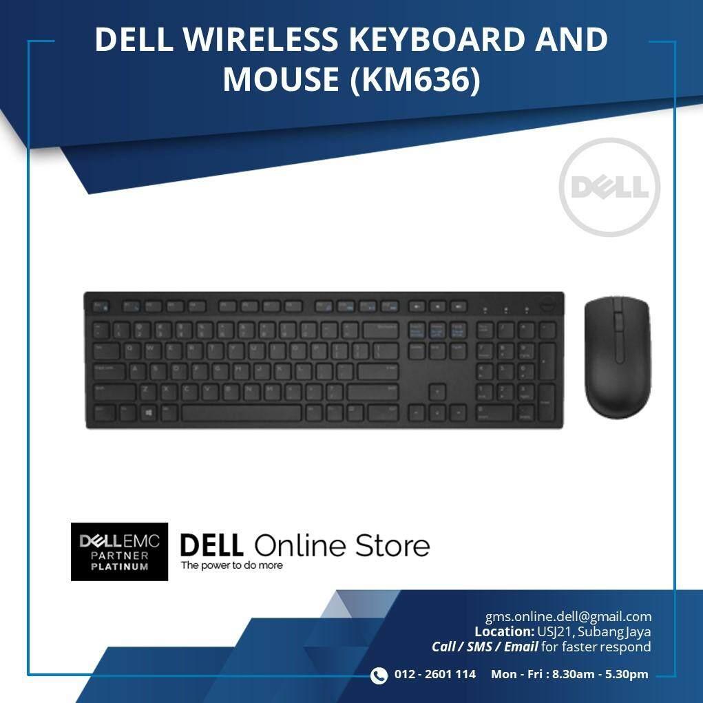 Dell Wireless Keyboard Mouse Combo Km636 Malaysia Inspiron 1440 Series