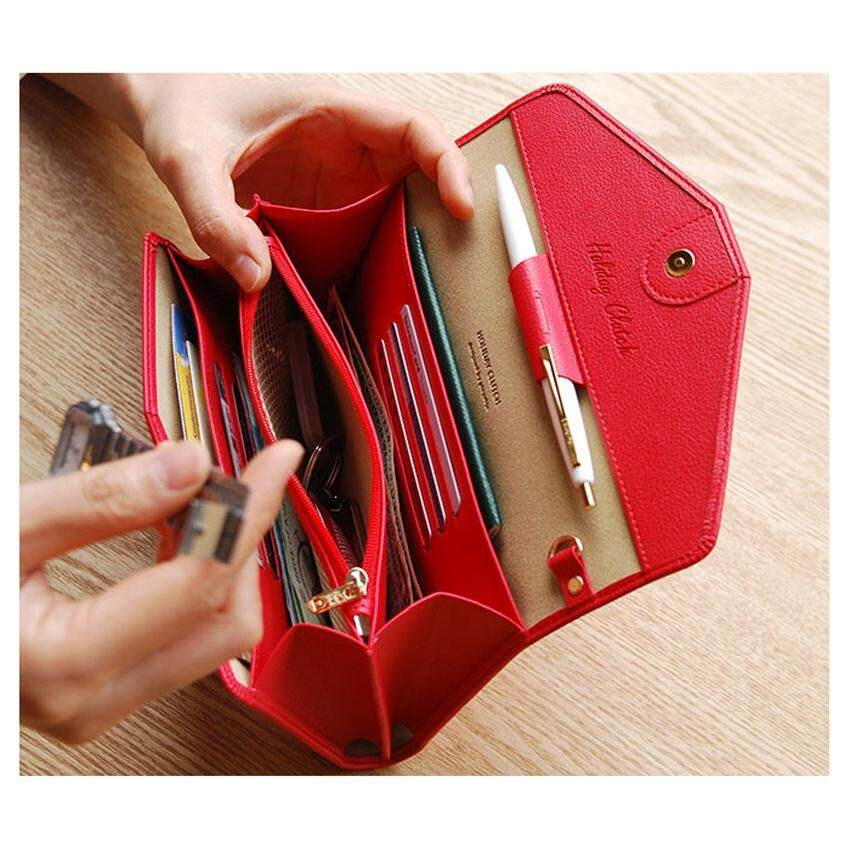 Korean Donbook Woman Wallet Purse Card Leather Multifunction