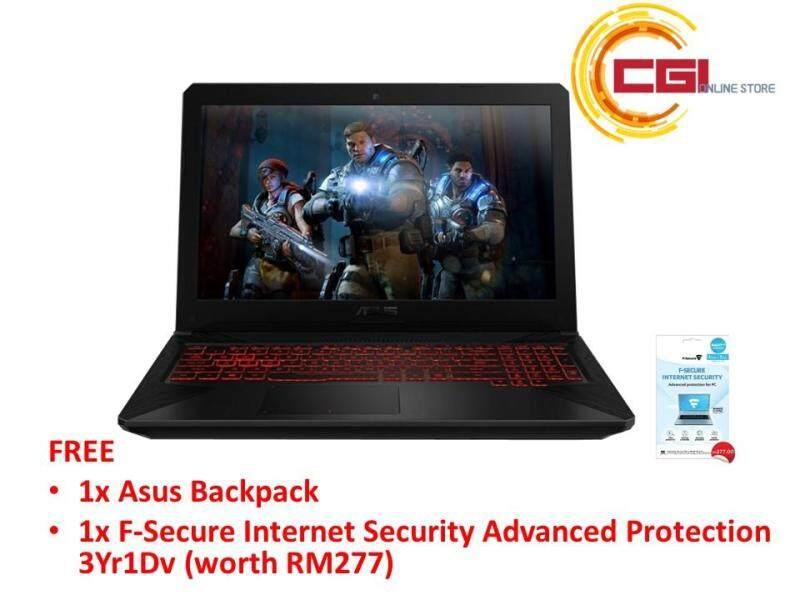 Asus TUF FX504G-EE4269T 15.6 FHD Gaming Laptop Premium Steel (I7-8750H,4GB 1TB+128GB GTX1050Ti 4GB,W10) Malaysia