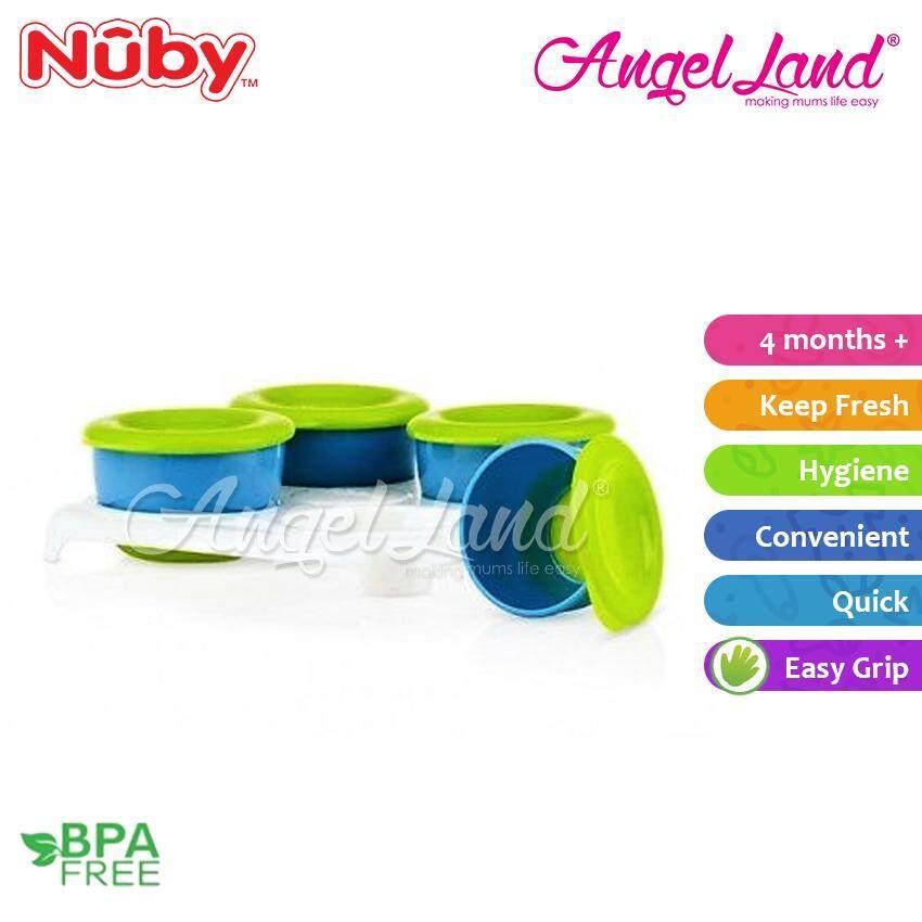 Nuby Garden Fresh Storage Pots (4 Months+) - NB5439