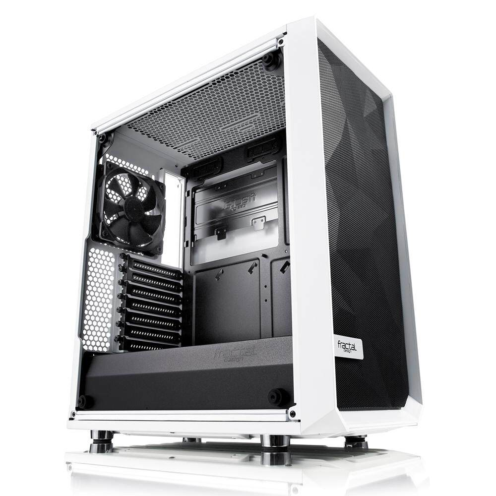 # FRACTAL DESIGN Meshify C White Tempered Glass # Malaysia