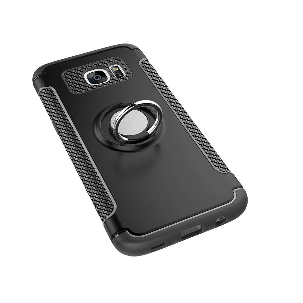 ... UPaitou Ring Case for Samsung Galaxy S7 Edge Hybrid Ring Holder Kickstand 360 Degree Rotating Ring ...