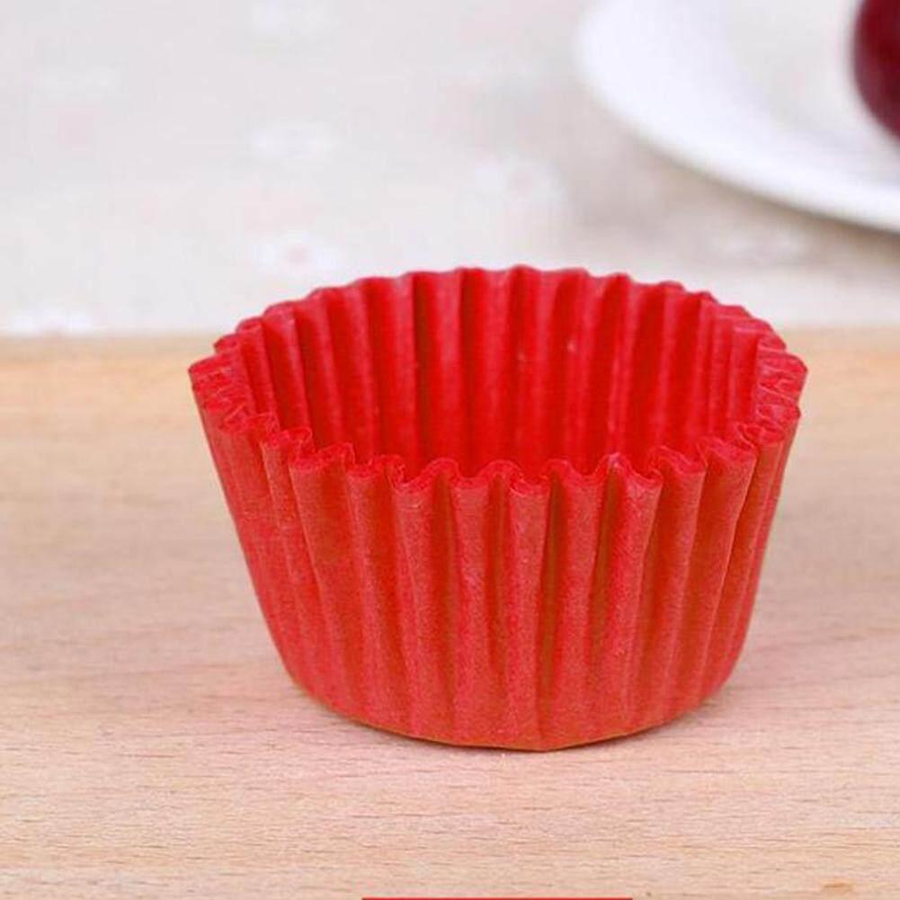 500 ชิ้น/1000 ชิ้นกระดาษแบบใช้แล้วทิ้งถ้วยอบขนม Cupcake Wrapper สำหรับมูสมัฟฟินถาดอบขนม.