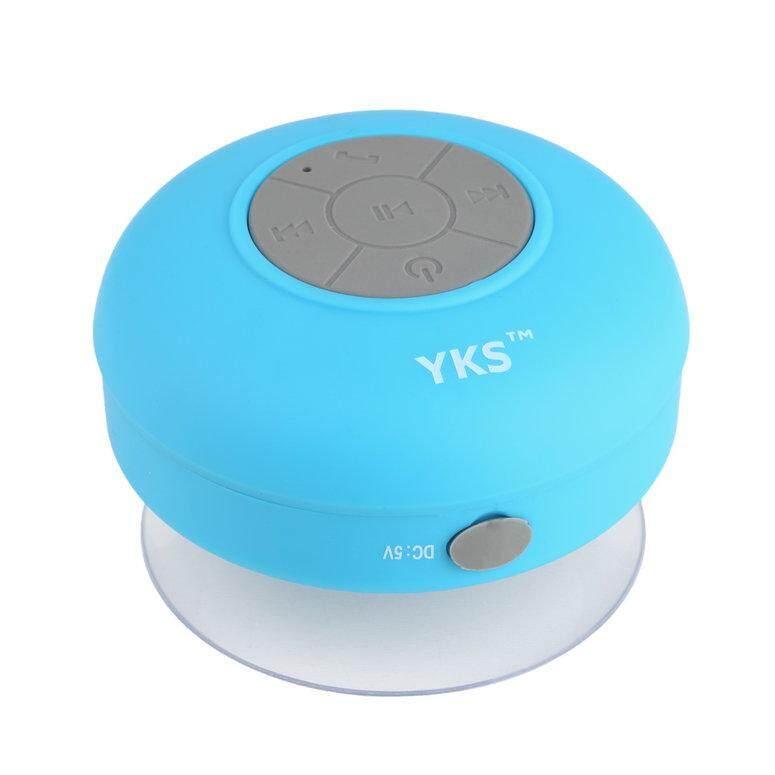 Lifef Mini Portable Shower Tahan Air Nirkabel Bluetooth Speaker Hands-Free Panggilan