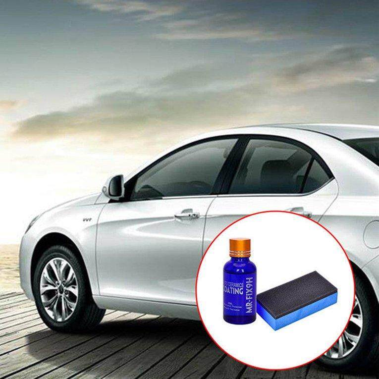 Car Liquid Glass 9H Crystal Coating Nano Hydrophobic Ceramic Coating Car Care - intl