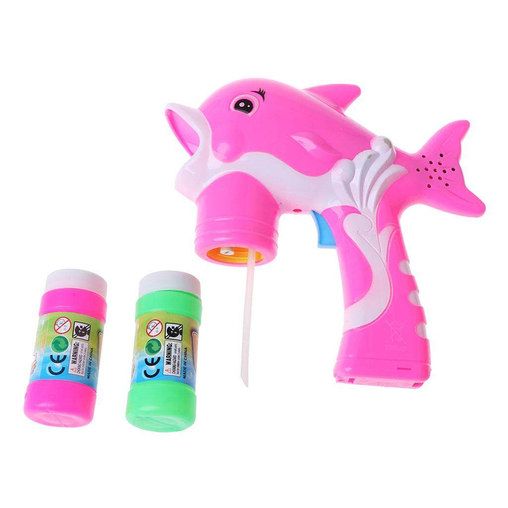 Buy Sell Cheapest Bubble Gun Robocar Best Quality Product Deals Mainan Gelembung Busa Hello Kitty Music Light Electric Dolphin With Water Set Outdoor Toys Gift