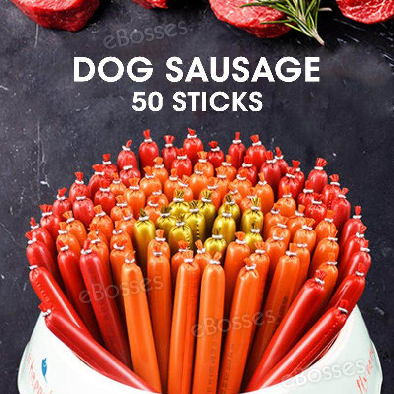 Dog Sausage 50 Calcium Low Salt Dog Sausage Pet Snack Training By Ebosses Store.