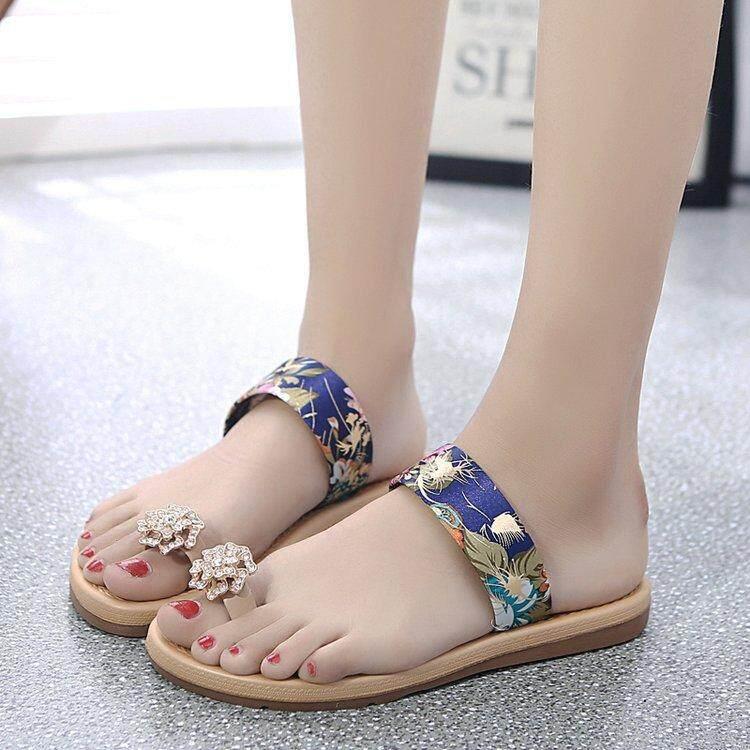 00ebd7bb775 2018 Summer Flat Sandals Sexy Casual Fashion Women Beach Slippers