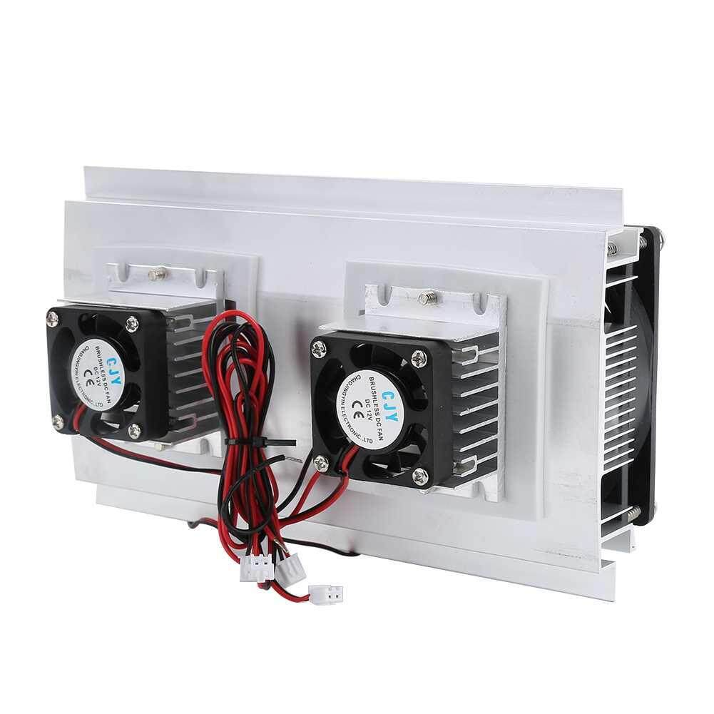 Burstore 120W/10A Double Nuclear Thermoelectric Peltier Refrigeration Air Cooling System Kit Cooler Malaysia