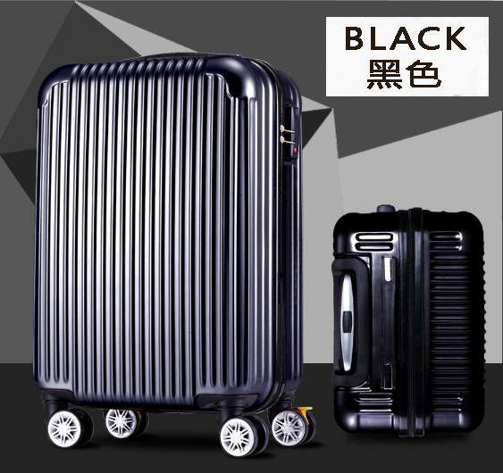 Luggage Bag 20inch ABS+PVC Strong Case 4 Wheel 360 Rotation