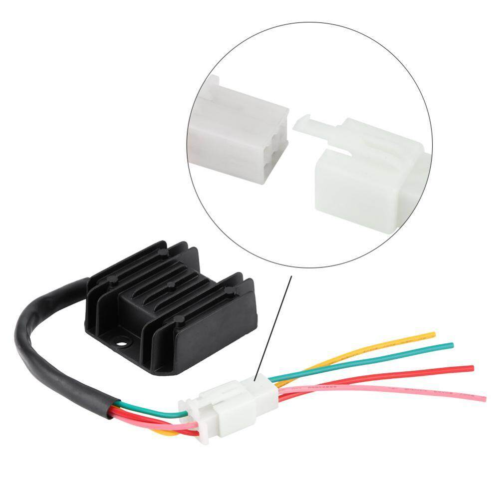 Features 4 Wires Voltage Regulator Rectifier For Atv Gy6 50150cc Wiring Motorcycle Boat Motor