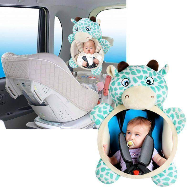 Wide View Rear Adjustable Safety Seat Car Back Mirror Headrest Mount For Baby By Xuderong Shopping Center.