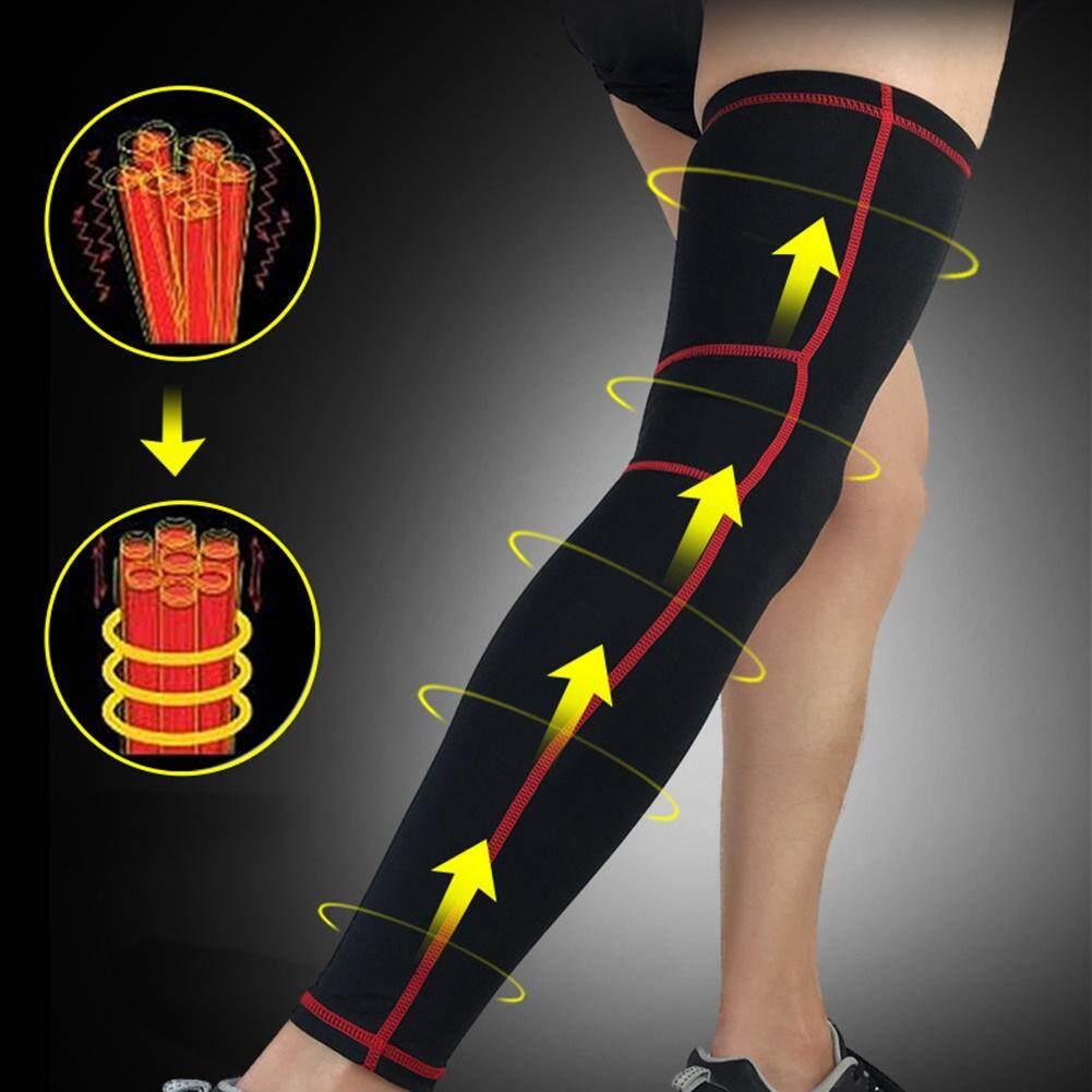 Profesional Lutut Bantalan Penahan Lutut Lengan Kompresi Pelindung Brace Untuk Bersepeda Menjalankan Olahraga Sepak Bola Basket 1 Pc By Storeshop