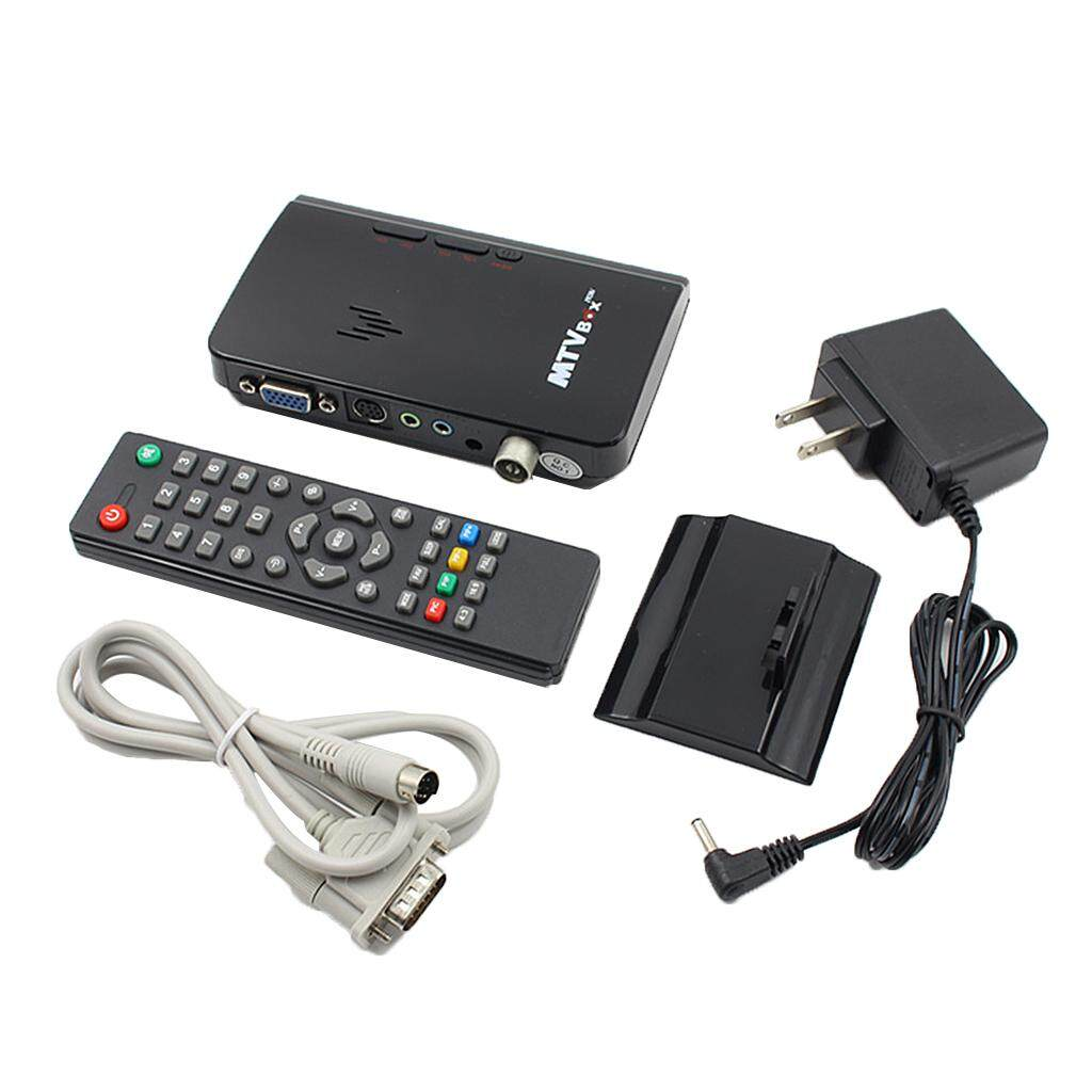 Hình ảnh MagiDeal LCD VGA External TV PC BOX Digital Program Receiver Tuner 1080P HDTV Monitor - intl